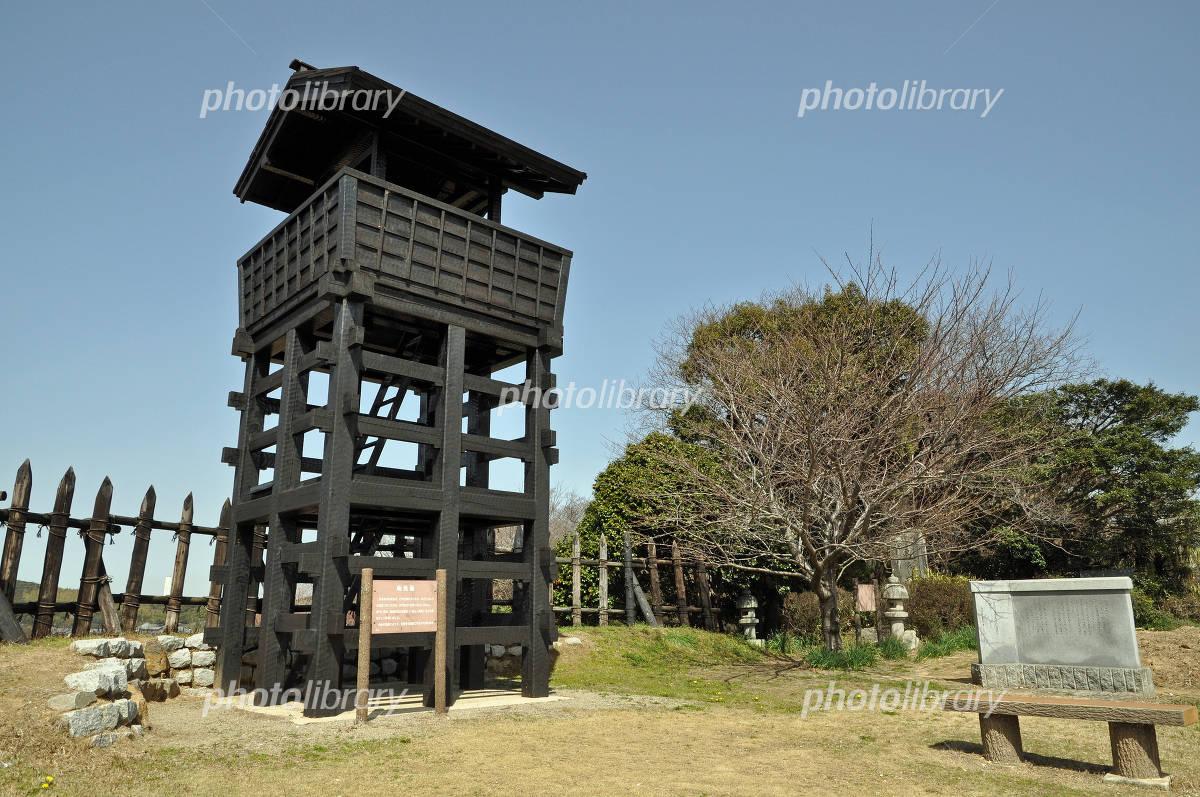 東条城の物見櫓(西尾市) 写真素材 [ 4491514 ] - フォトライブラリー ...