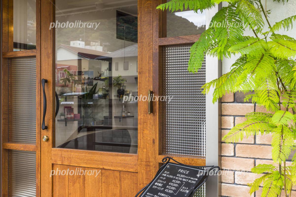 美容室のエクステリア 写真素材 フォトライブラリー Photolibrary