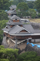 Kumamoto Castle Iida round after the earthquake Stock photo [4493049] Kumamoto