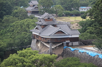 Kumamoto Castle Iida round after the earthquake Stock photo [4493060] Kumamoto