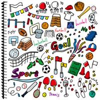 Sports graffiti notebook color white [4495639] Sport