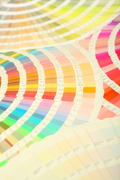 Color guide that fanned Stock photo [4578222] Color