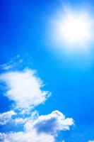 Midsummer sun Stock photo [4642350] Sky