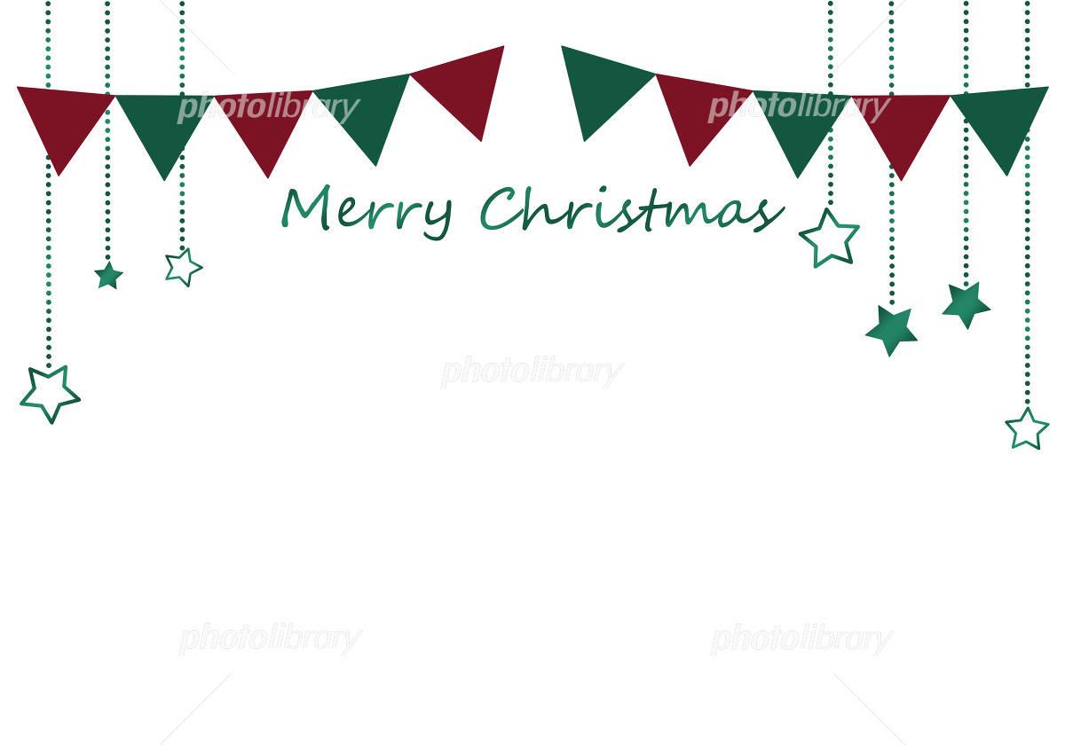 クリスマスフレーム ガーランド イラスト素材 4703799 フォト