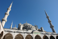 Istanbul's Blue Mosque Stock photo [4705694] Turkey