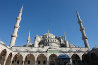 Istanbul's Blue Mosque Stock photo [4705695] Turkey