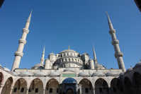 Istanbul's Blue Mosque Stock photo [4705713] Turkey