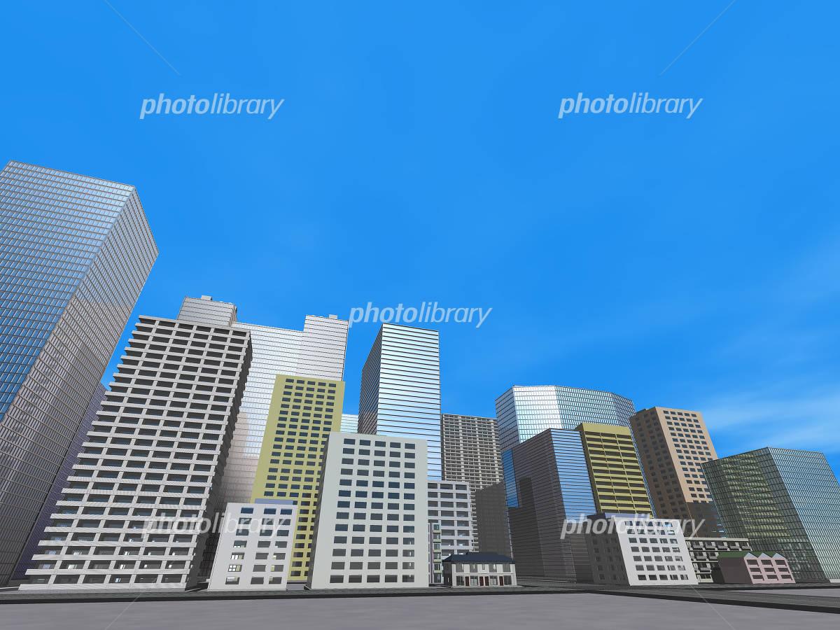 ビル群 イラスト素材 4765631 フォトライブラリー Photolibrary