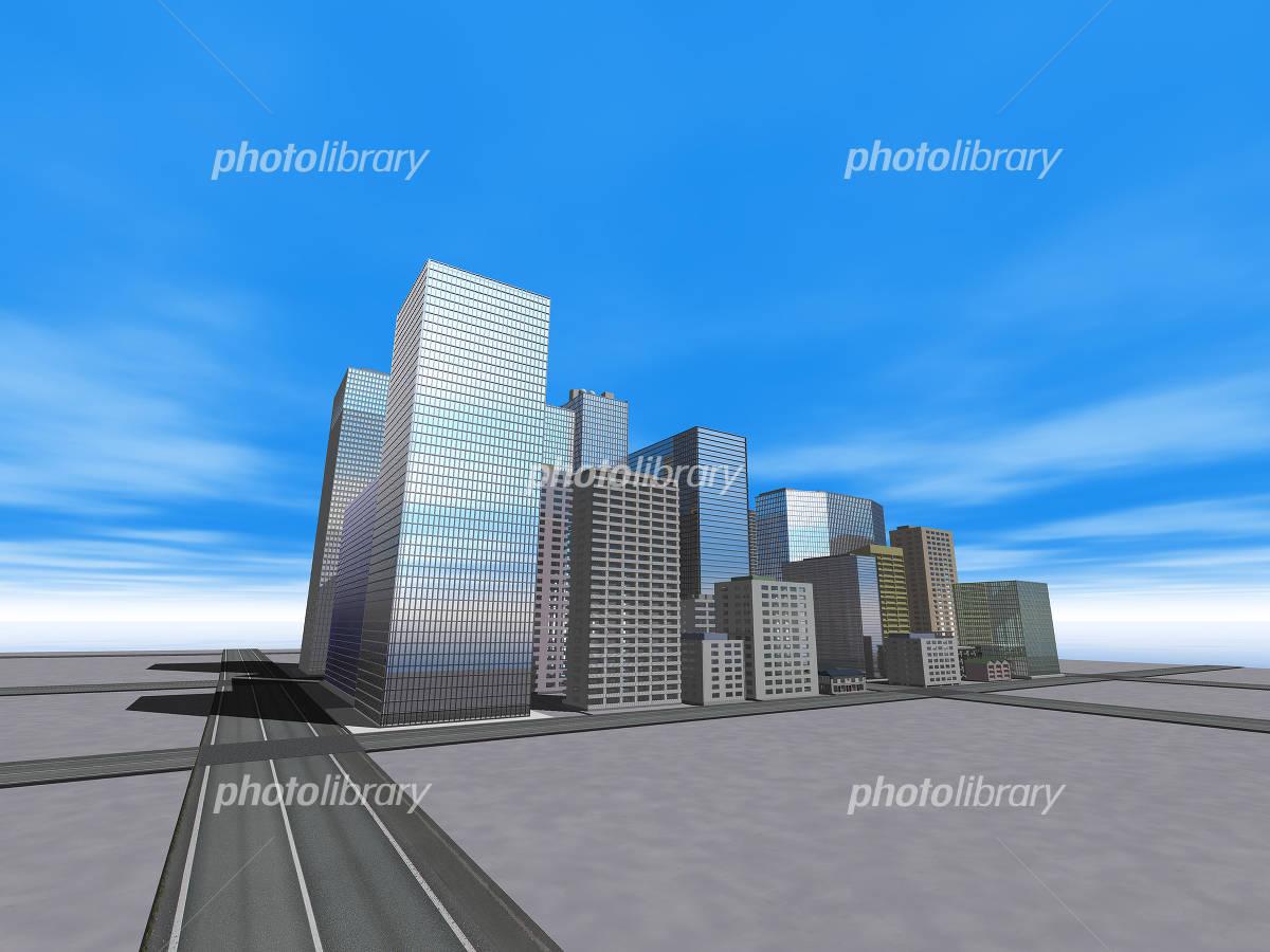 ビル群 イラスト素材 4765706 フォトライブラリー Photolibrary