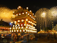 Ryuhoko and fireworks Stock photo [4766641] Chichibu