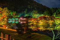 Ritsurin Park autumn light up Stock photo [4771957] Kagawa