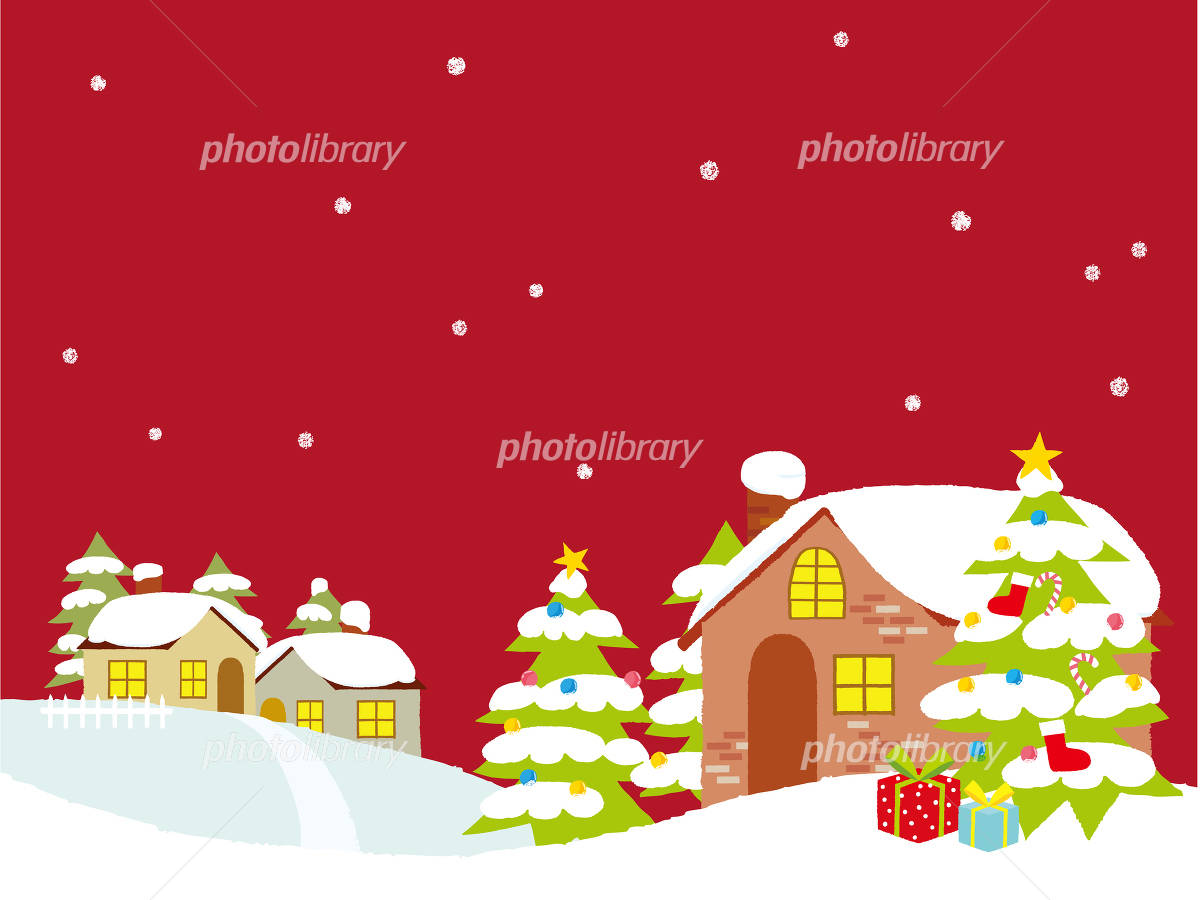 クリスマスの街並み イラスト素材 4857752 フォトライブラリー
