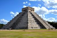 Mexico Chichen Itza ruins Maya civilization Stock photo [4853691] Chichen