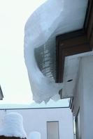 屋根の雪庇