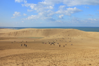 Tottori Sand Dunes Stock photo [4861060] Tottori