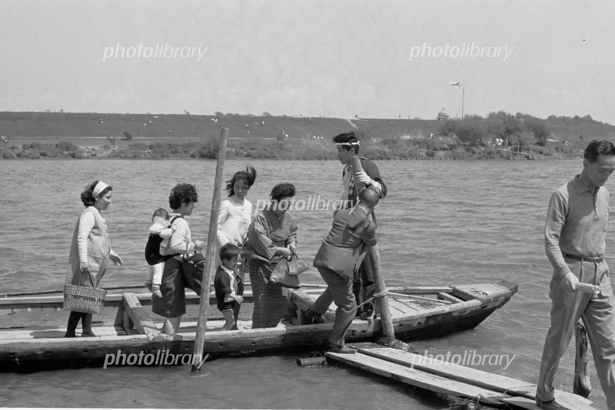 矢切の渡し 1969年 写真素材 [ 4970954 ] - フォトライブラリー ...