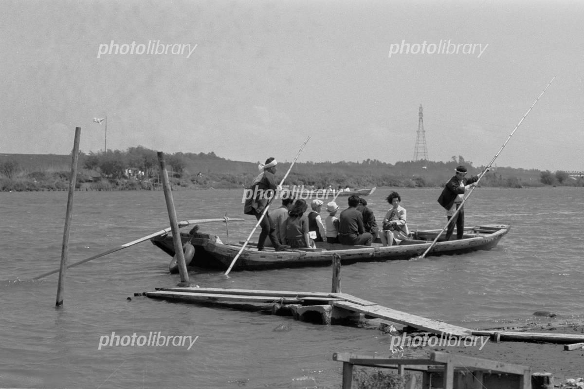 矢切の渡し 1969年 写真素材 [ 4970978 ] - フォトライブラリー ...