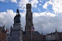 Bell tower Stock photo [4966617] Belgium