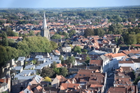 From Bruges historical district Belfry Stock photo [4966621] Belgium