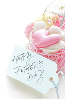 Macaroons and message cards on Father's Day Stock photo [5055777] Present