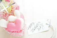 Macaroons and message cards on Father's Day Stock photo [5055778] Present