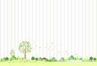 Natural landscape striped background [5058928] Tree