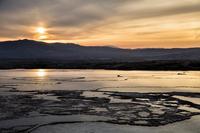 Sunset of Pamukkale, Turkey Stock photo [5059523] Turkey