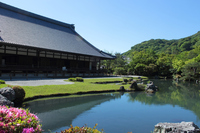 Kyoto Tenryuji Sauce pond garden Stock photo [5059933] Tenryu-ji