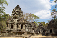 Angkor monument Chow Sai Theoboda Stock photo [5062547] Angkor