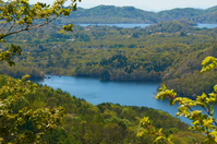Lake Bandai ? Fresh green three lake paradise Stock photo [5064137] Fresh