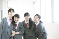 Smiling girls students Stock photo [5067104] Middle