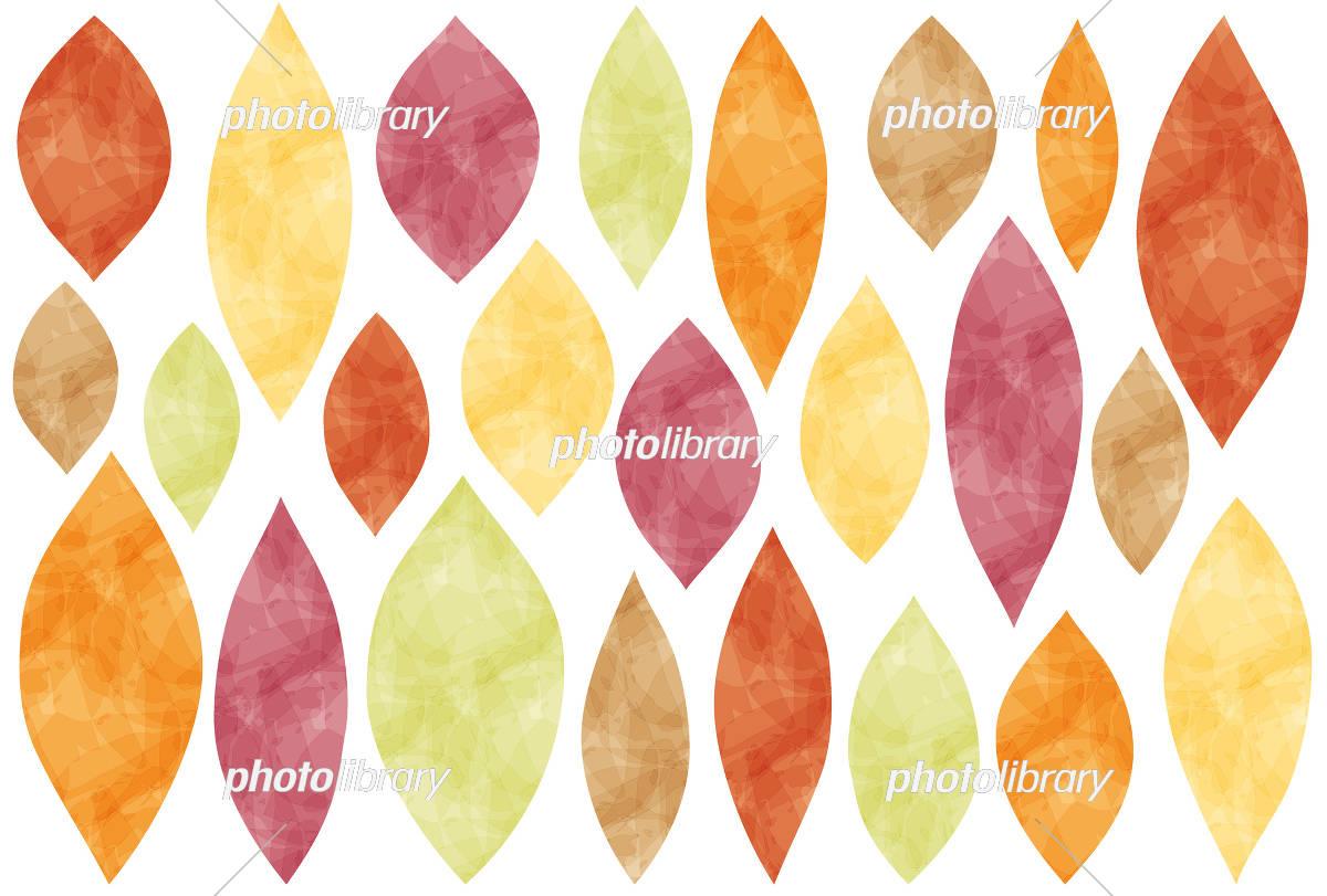 秋のフレーム 葉っぱ イラスト素材 [ 5241311 ] 無料素材- フォト