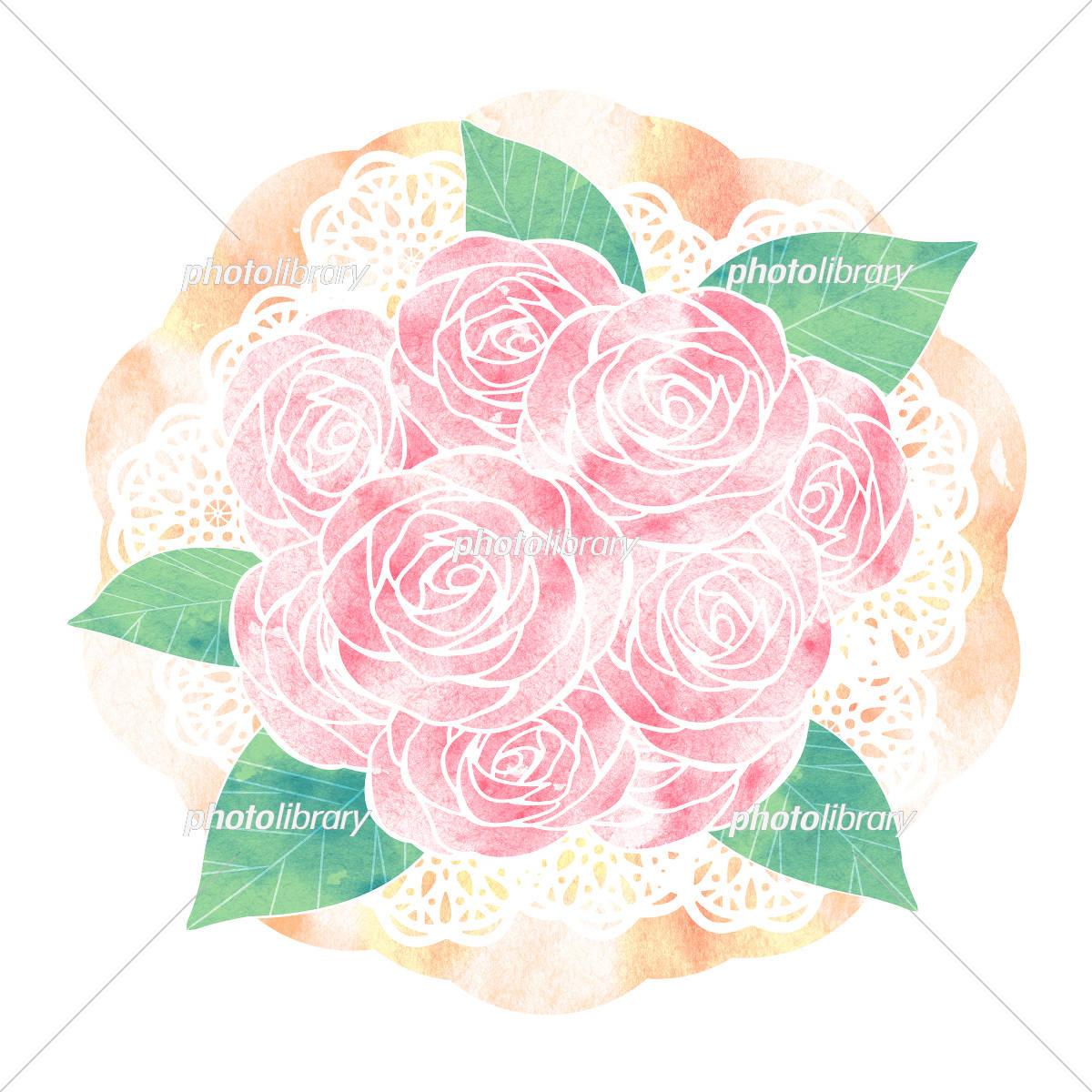 バラ花束 イラスト素材 5244842 フォトライブラリー Photolibrary