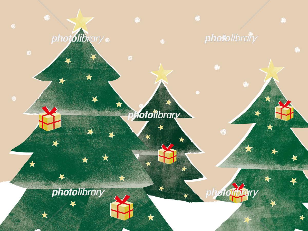 クリスマス 風景 イラスト素材 5251403 フォトライブラリー
