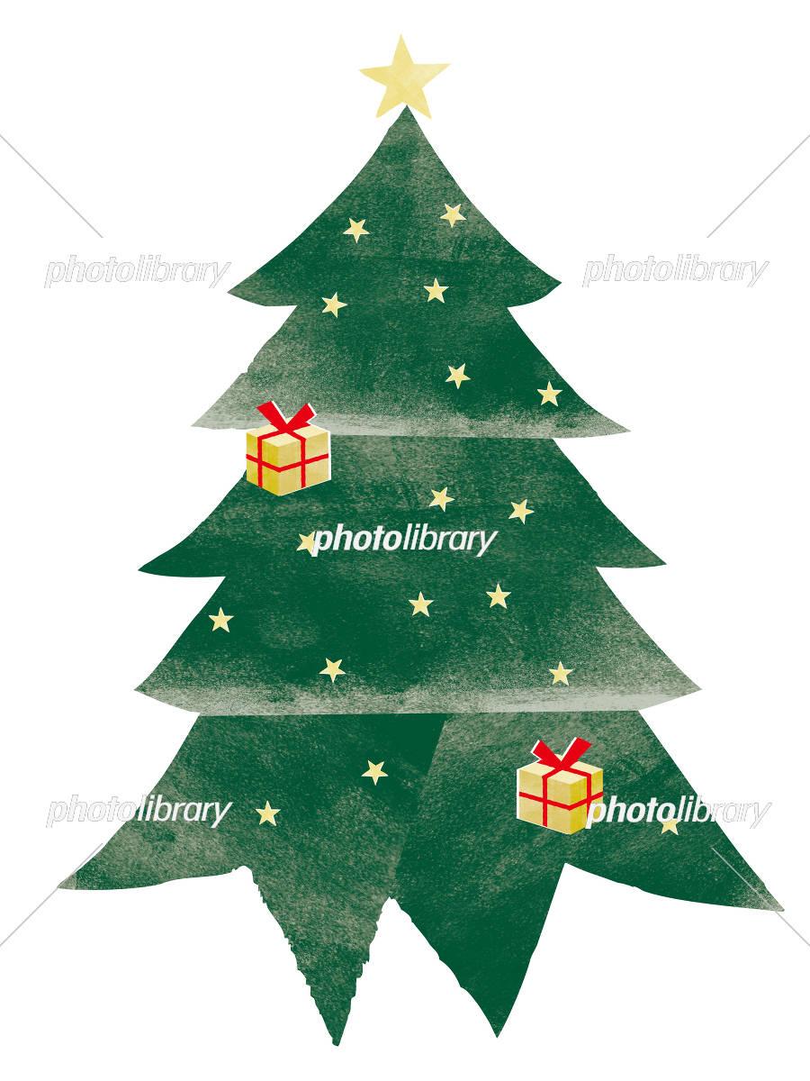 クリスマス モミの木 イラスト素材 5251406 フォトライブラリー
