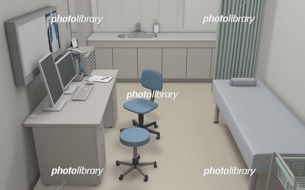 Examination room イラスト素材