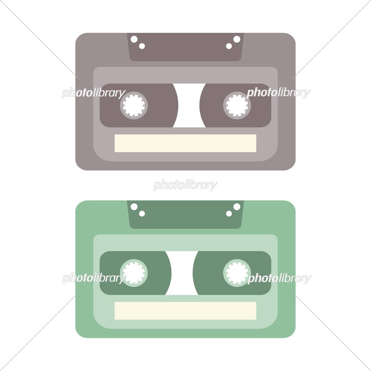カセットテープ イラスト素材 5336920 フォトライブラリー