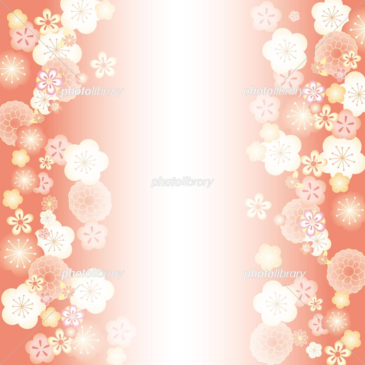 飾り正月 縦 梅渋 イラスト素材 フォトライブラリー Photolibrary