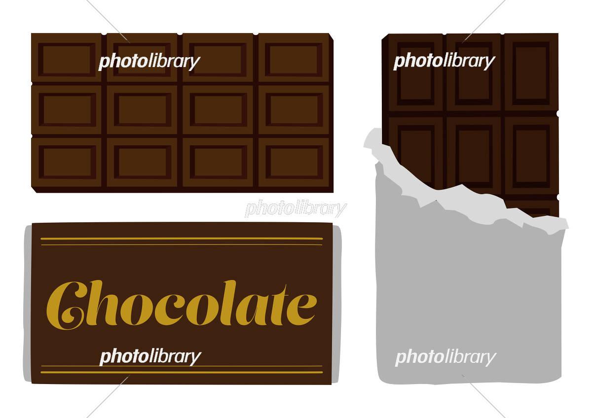 チョコレート イラスト イラスト素材 フォトライブラリー Photolibrary