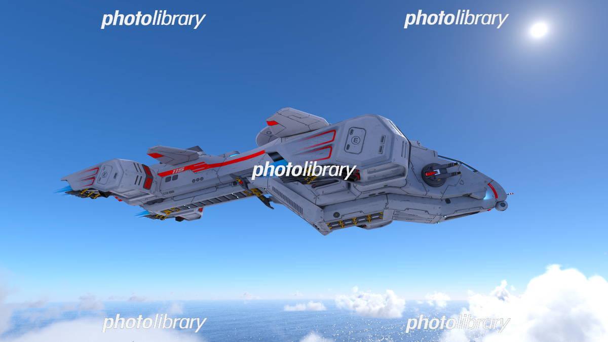 宇宙船 イラスト素材 5409422 フォトライブラリー Photolibrary