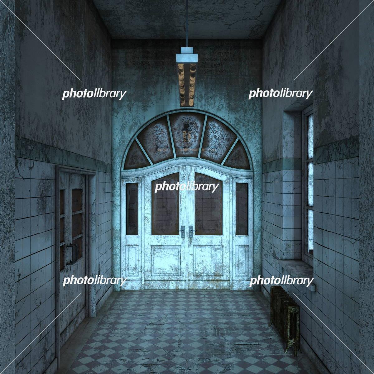 廃墟のイラストcg イラスト素材 [ 5409455 ] - フォトライブラリー