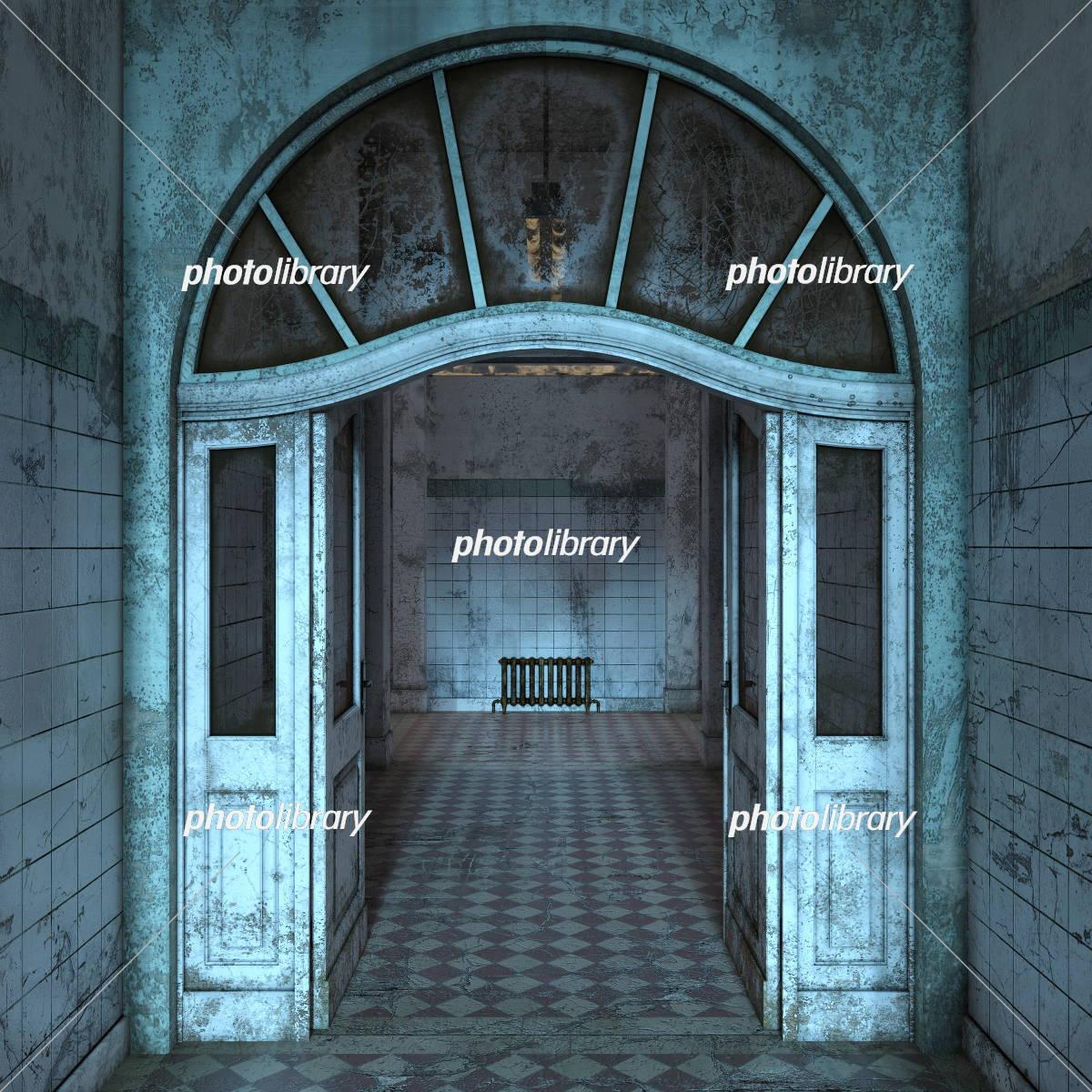 廃墟のイラストcg イラスト素材 [ 5409458 ] - フォトライブラリー