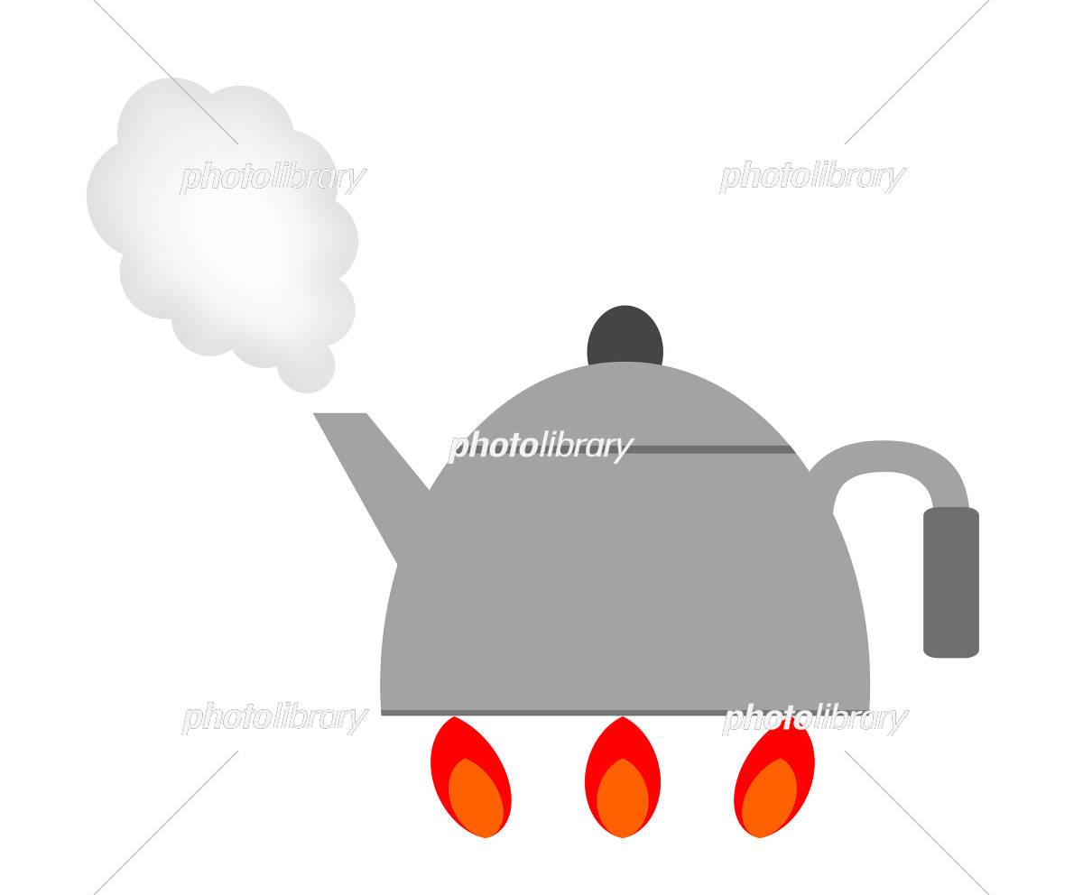 沸騰のイラスト