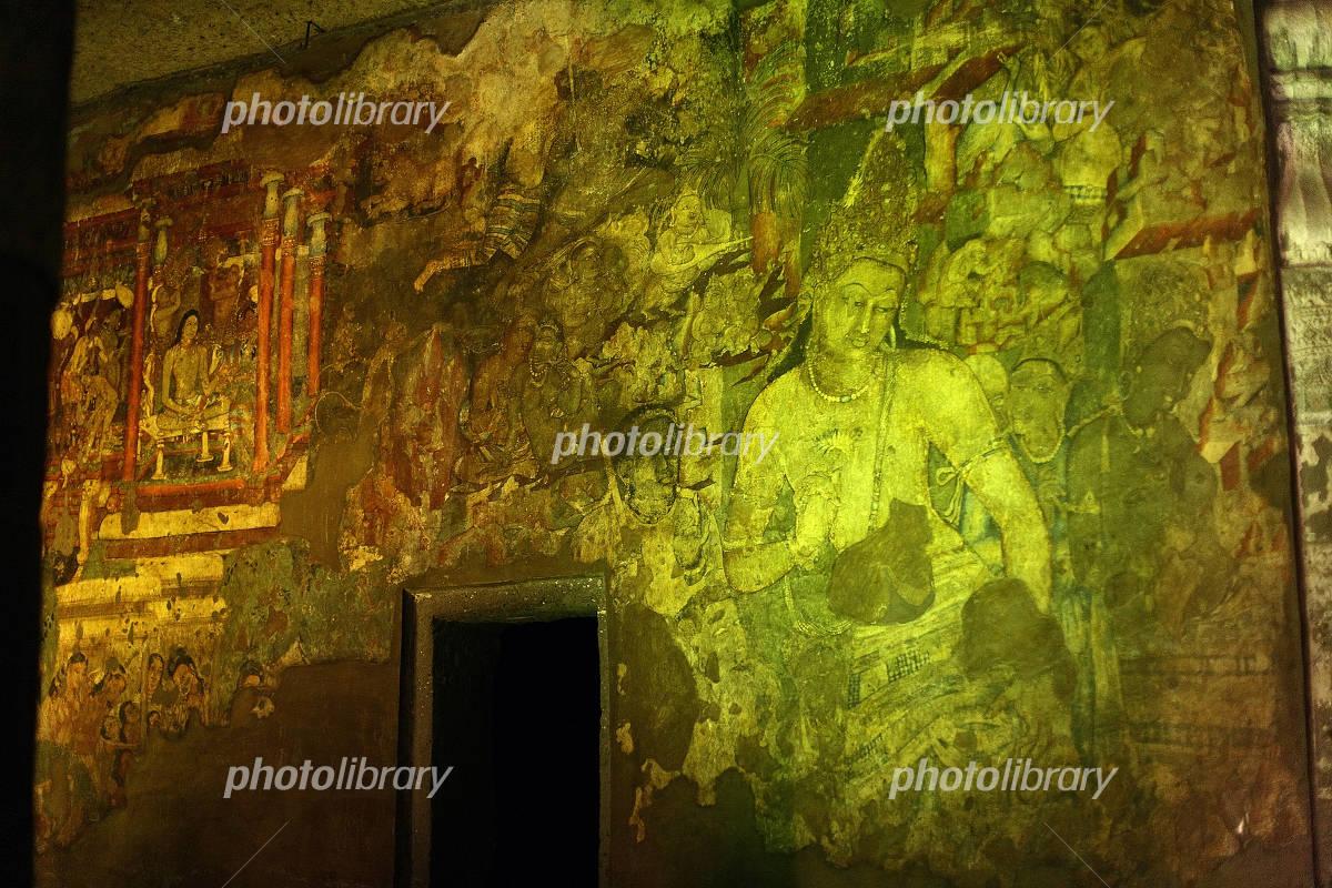 アジャンター石窟群の画像 p1_5