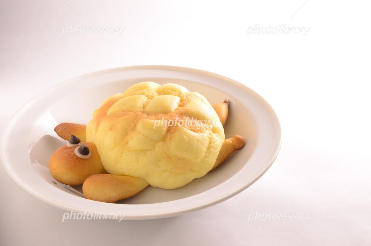 メロンパン(カメロンパン)  写真素材