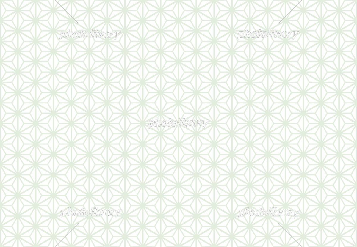 麻の葉 白の和風背景 伝統柄 イラスト素材 5913639 フォトライブ