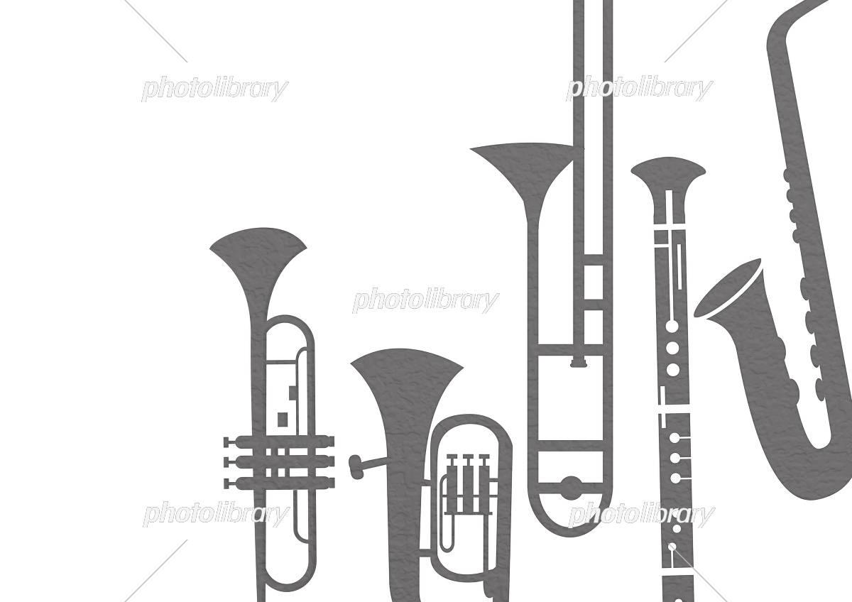 楽器の背景素材 イラスト素材 フォトライブラリー Photolibrary
