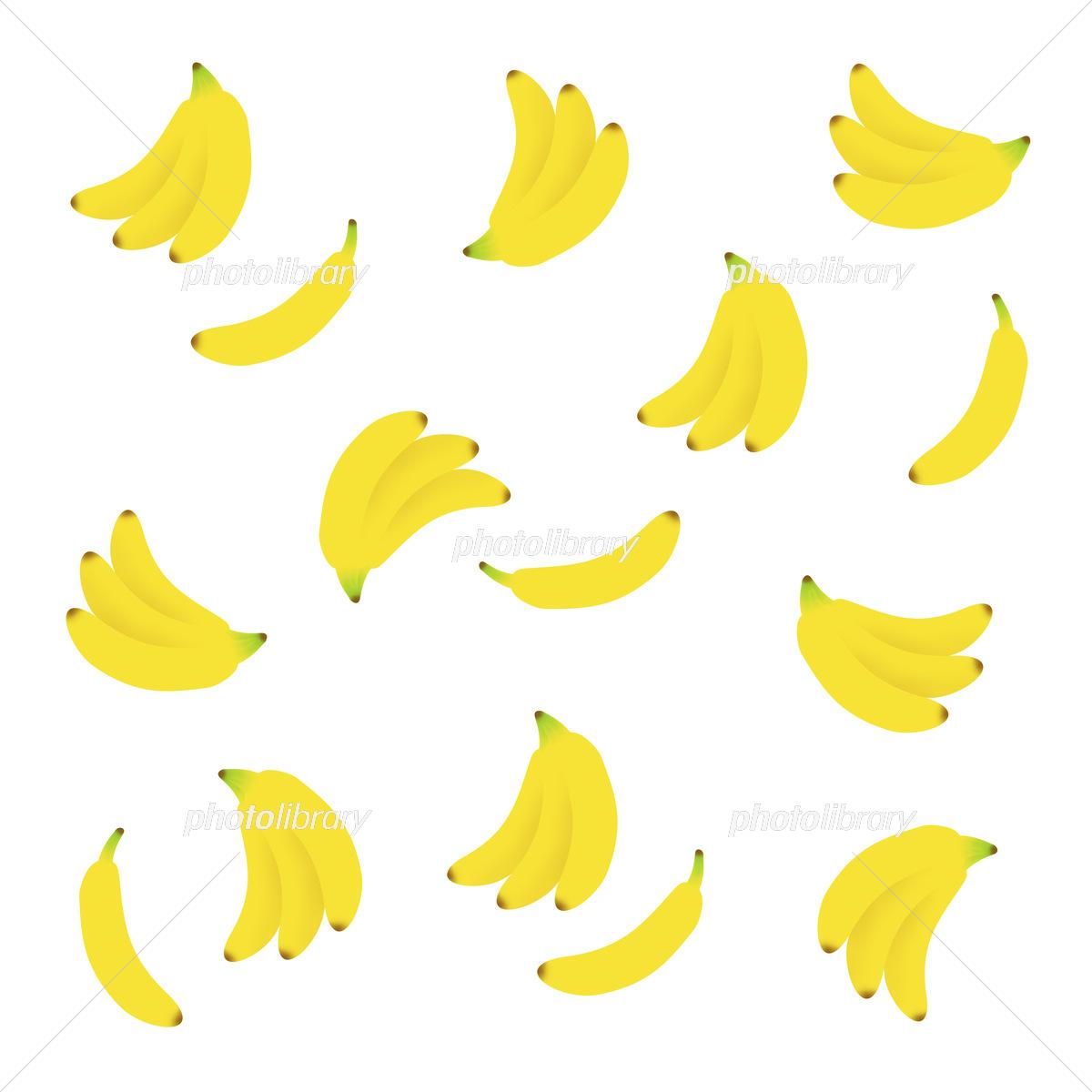 バナナの背景 イラスト素材 6252041 フォトライブラリー