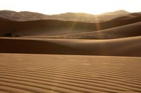 Moroccan morning sun shining Sahara Stock photo [241628] Morocco