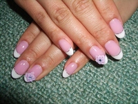 French Nail Art Stock photo [287977] French